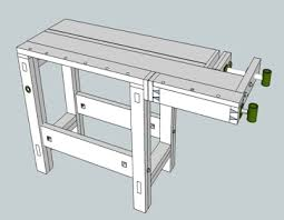 workbench design casters workbench outfeed table more lifting