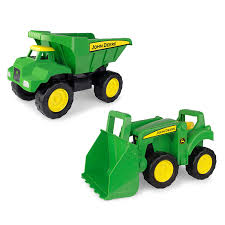 100 John Deere Toy Trucks Amazoncom 46777 Big Scoop Dump Truck And Tractor With