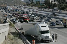 100 Truck Accident Lawyer San Diego Traffic Slow Around South I15 Bigrig Crash The Union
