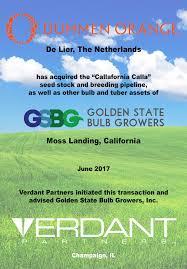 golden state bulb company verdant partners