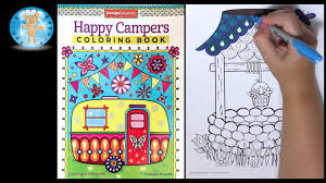 Design Originals Happy Campers Thaneeya McArdle Adult Coloring Book Water Well