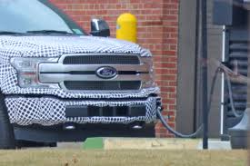 100 Ford Electric Truck F150 Pickup Spied For First Time