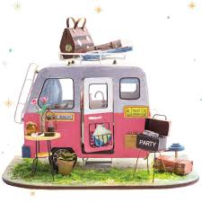 Miniature DollHouse Landscape Moss Mini Mini House DIY Fairy Garden