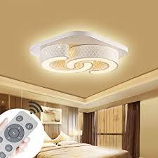 led dimmbar deckenle deckenleuchte quadrat energiespar wohnzimmer schlafzimmer korridor acryl schirm rahmen flur le schlafzimmer küche energie