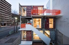 bureau du logement construction en conteneurs pour bâtiment tertiaire pour