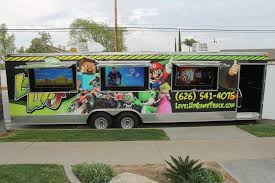 100 Video Game Truck Gallery LevelUp