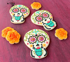 Day Of The Dead Pumpkin Carving Patterns by El Dia De Los Muertos Day Of The Dead Cookies U2013 The Sweet