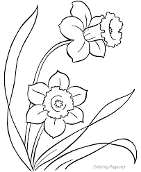 Full Image For Printable Coloring Pages Flowers And Butterflies Spring Page