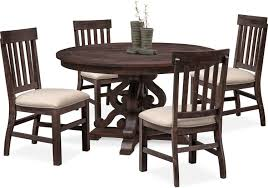 Charthouse Round Dining Table And 4 Side Chairs | American Signature ... Amazoncom Coavas 5pcs Ding Table Set Kitchen Rectangle Charthouse Round And 4 Side Chairs Value City Senarai Harga Like Bug 100 75 Zinnias Fniture Of America Frescina Walmartcom Extending Cream Glass High Gloss Kincaid Cascade With Coaster Vance Contemporary 5piece Top Chair Alexandria Crown Mark 2150t Conns Mainstays Metal Solid Wood Round Ding Table Chairs In Tenby Pembrokeshire Phoebe Set Marble Priced To Sell