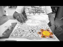 Adult Coloring Book The Mysterious MANDALAS Relaxing Patterns Interview With Bambang Pribadi