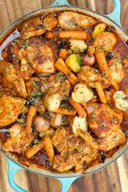One Pot Paprika Chicken Thighs