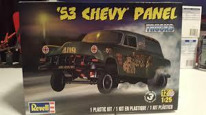 100 Plastic Model Trucks 1953 Chevy Panel Car Kit 125 Scale 854189