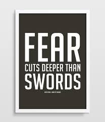 Game Of Thrones Inspirational Quote Print Arya Stark TV Series Typography Poster Minimalistic