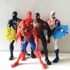 2018 Spiderman Action Figures Cartoons Pvc Collectable Model Avengers Civil War Comics Heroes Spider Man Toys With Fittings From Mk665e323 624