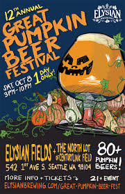 Elysian Night Owl Pumpkin Ale by Elysian Brewing U0027s Great Pumpkin Beer Festival Returns For Its 12th