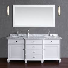72 Inch Wide Double Sink Bathroom Vanity by White Bathroom Vanities Bathroom Vanity Trends