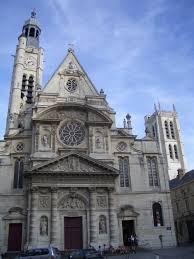 photo eglise st etienne du mont 5e arrondissement
