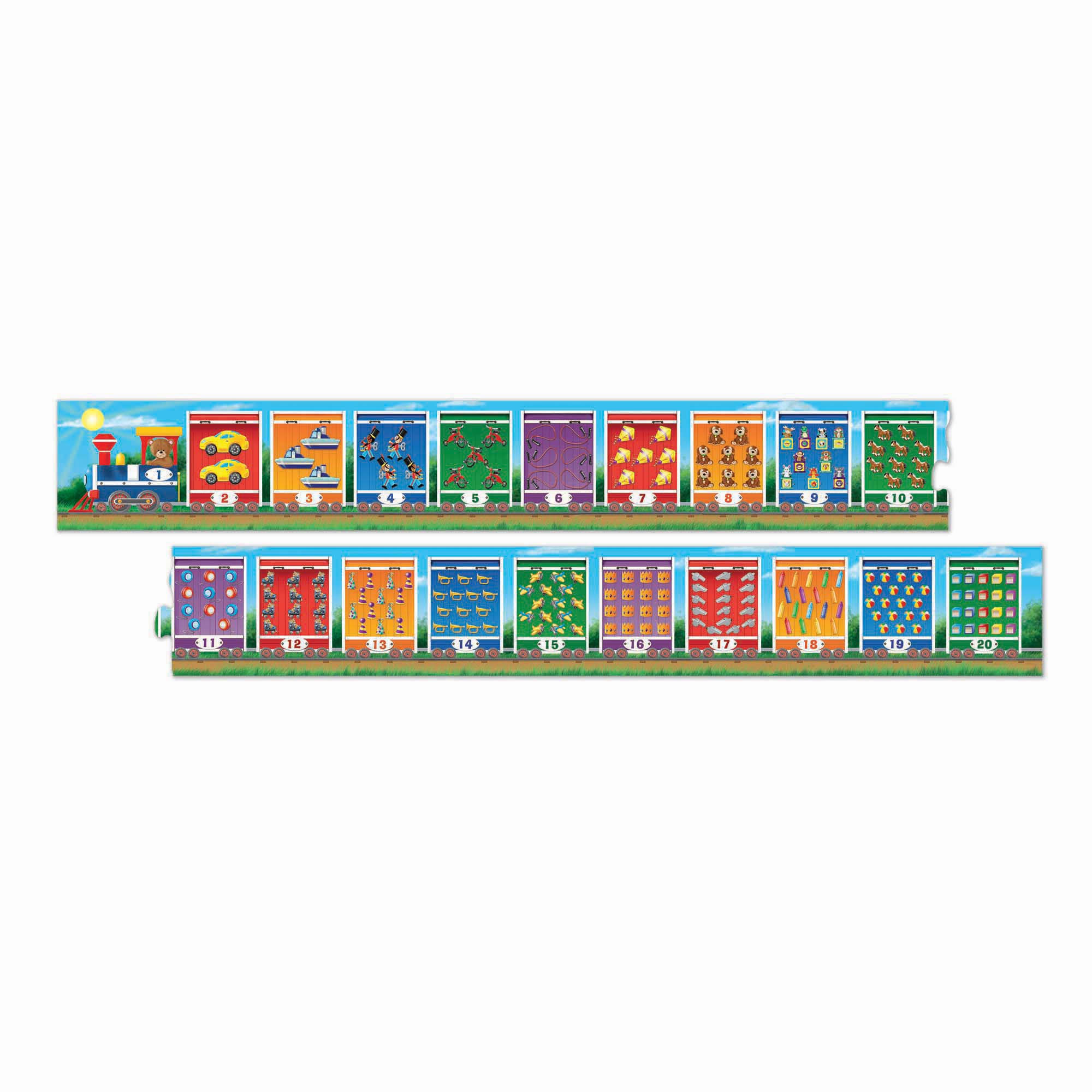 Melissa & Doug - Number Train Floor Puzzle