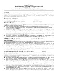 Manager Resume Objective