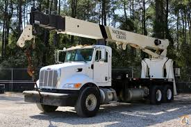 Sold Used National 900A Mounted To 2007 Peterbilt 340 Chassis Crane ...