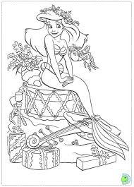 Free Christmas Disney Princess Coloring Pages