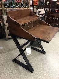 Small Secretary Desk With File Drawer by World Market Secretary Desk 229 Pos 502391 Very Narrow Surface