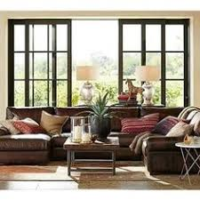 Pottery Barn Turner Sleeper Sofa by Turner Leather 2 Piece Sectional With Chaise Pottery Barn Fam