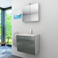 badmöbel set gently 2 v1 weiß grau badezimmermöbel waschtisch 60cm nein ohne led beleuchtung