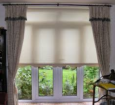 Dining Room Patio Door Curtains Single Panel Sliding Curtain For Glass Doors In Kitchen Beige