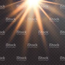 Realistic Sun Flare Starburst Vector Transparent White Light Royalty Free