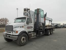 100 Used Heavy Trucks For Sale Manitex 102SX Crane On A 2008 Sterling LT7501 Boom Truck For