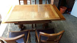 Extending Table And 4 Chairs 1940s/50s