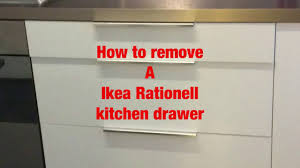 ikea rationell drawer remove by michal červenka