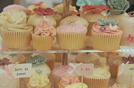 Rustic Vintage Cupcake And Mini Cake Tower By Barneys Bakery