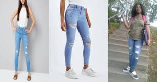 One Of The Latest Trends For Teenage Girls Age 10 15 Is Ripped Jeans They Are A Fashion Statement If You Wear In