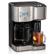 Hamilton Beach 12 Cup Coffeemaker With Hot Water Dispensing