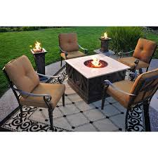 Patio Furniture Design With Quality Fire Pits With Propane Fire Pit ... Hanover Summer Nights 5piece Patio Fire Pit Cversation Set With Amazoncom Summrnght5pc Zoranne 4 Chairs Livingroom Table With Outdoor Gas And Tables Sets Fniture Fresh Ding Shop Monaco 7piece Highding 6 Swivel Rockers And A The Greatroom Company Kenwood Linear Height Alinum Cheap Chair Beautiful Comet 8 Wicker Chat Tank Awesome Top 10 Envelor Oval Brown 7 Piece Poker Stunning