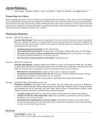 Resume For Hospitality Great Examples