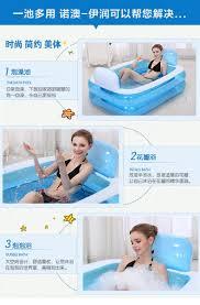 Inflatable Bathtub For Adults by Inflatable Bathtub Folding Tub Thickening Bathtub Child Bath