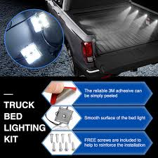 Audew Truck Bed Accsories Blight Bp Battery Powered Led Putco Strip Lighting Kit 186374 At 52017 Ford F150 Recon High Oput Cree Cargo Lumen Trbpodblk 8pod Lights Light Multi Color 4 To 6 Boogey Aliexpresscom Buy 8pc Waterproof Pickup K61 Xtl Technology Extreme Watch Led Install 2018 Operated With 48 Super Bright White Amazoncom