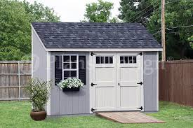storage shed plans 6 x 12 deluxe lean to slant d0612l free