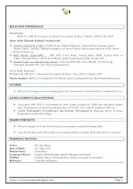 Good Resume Examples For College Students With No Experience Server Sample Work Restaurant