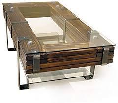 chyrka couchtisch wohnzimmertisch lemberg loft vintage bar industriedesign handmade holz glas metall 120x60 cm h 40 cm