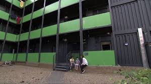 100 Converted Containers Thousands Of Homeless Children Living In Converted Shipping Containers