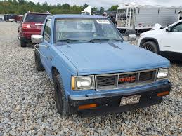 1985 GMC S Truck S1 For Sale At Copart Memphis, TN Lot# 48676538