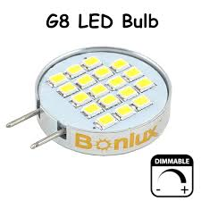 dimmable led g8 light bulb 3 5 watts cabinet led light with