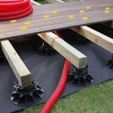 plot reglable pour terrasse bois plot pour terrasse nivo h25 40mm plot pour lambourdes deck linea