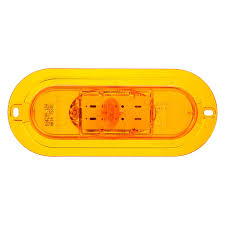 Truck-Lite® 60420Y - 60 Series Yellow Oval Side Turn Signal Light ... Trucklite 60 Series Grommet Amazoncom 602r Stopturntail Lamp Automotive 060r Red Oval Retrofitstop Light Kit 26 Led 27450c Headlamp Truck Lite Model Offers 6inch Combination Headlights Lights 2x6 In Work 6 Diode 450 Lumen 12v Pedestal Indicator 2752 New Truck Lite Model Oval Reverse Light Clear 04 Dot 60074y Yellow Frontparkturn