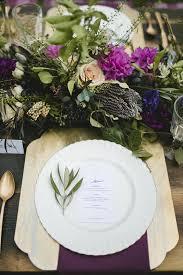 Golden Plum Garden Wedding Ruffled