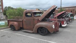 International Rat Rod Pickup Truck - Somernites Cruise-In - YouTube
